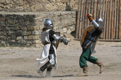 #2.Knight tournament. Royalty Free Stock Images