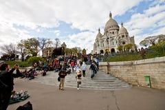 2 kościół coeur sacre Fotografia Royalty Free