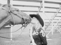 2 końskie usta Fotografia Royalty Free