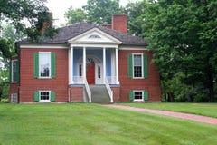 2 kolonizatorów Farmington dom Zdjęcie Stock