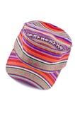 2 kolorowego kapeluszu odosobniony biel Obrazy Stock