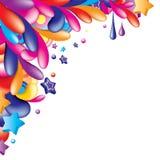 2 kolorowy kąt Obrazy Stock