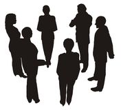 2 konsultacji przedsiębiorstw Obraz Stock