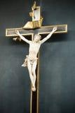 2 korsfäste jesus Fotografering för Bildbyråer