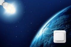 2 kosmos Fotografering för Bildbyråer