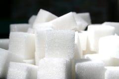 2 kostek cukru Zdjęcia Stock