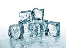 2 kostek lodu Obraz Stock