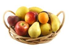 2 koszy owoców Obrazy Royalty Free