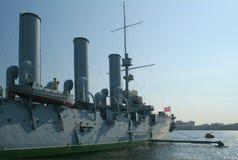 2 krążowników rewolucji. Fotografia Royalty Free