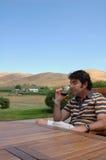 2 krajów wino Zdjęcia Royalty Free