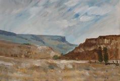 2 krajobraz Ilustracja Wektor