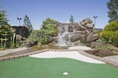 2 kursów golfowa miniatura Zdjęcia Stock