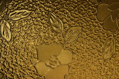 2 kwiat dekorująca tafli szkła obraz royalty free