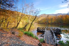 2 lakes sju Arkivfoto