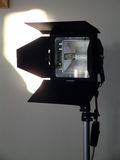 2 lamp studio Zdjęcia Royalty Free