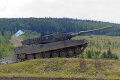 2 leopard δεξαμενή Στοκ Φωτογραφίες