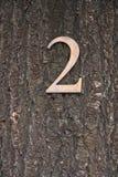 2 liczby Fotografia Stock