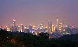 2 linia horyzontu Guangzhou Obraz Stock