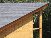 2 linii dach Zdjęcie Stock