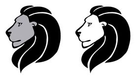 2 lions Royalty Free Stock Photos