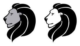 2 lions Photos libres de droits