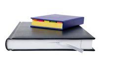 2 livros de nota isolados Ilustração Stock