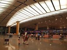 2 lotniska Changi Singapore terminal Zdjęcia Royalty Free