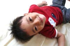 2 lyckliga barn för pojke Royaltyfri Fotografi