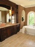 2 lyx för 5 badrum Arkivbilder