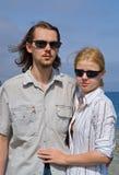 2 mężczyzna kobiety potomstwa Fotografia Royalty Free