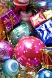 2 magiska jul Arkivbild