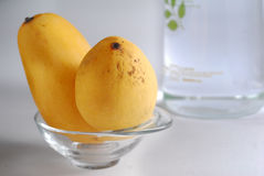 2 mangos Imagen de archivo