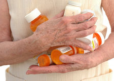 2 many medicines Στοκ φωτογραφία με δικαίωμα ελεύθερης χρήσης
