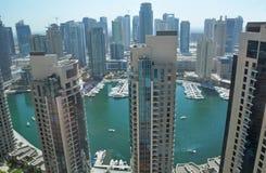 2 marina Dubai Obrazy Royalty Free