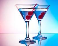 2 martinis Стоковое Изображение