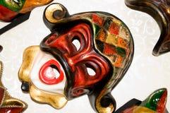 2 maskering venice Royaltyfria Bilder