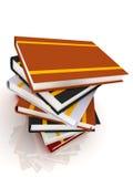 2 massiva böcker Fotografering för Bildbyråer