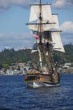 2 masted высокорослый корабль Стоковые Фотографии RF