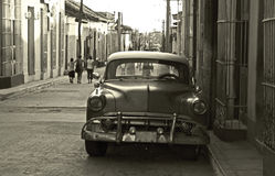 2 maszyny kubańskiego, stary zdjęcie stock