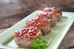 2 meatloaf Fotografia Stock