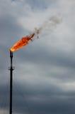2 medföljda burning gaser Royaltyfria Bilder