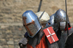 #2.Medieval ridder. Royalty-vrije Stock Afbeeldingen