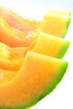 2 melon skjuten studio Royaltyfria Bilder