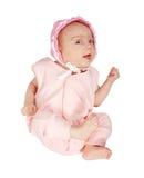 2 mesi di neonata Immagine Stock Libera da Diritti