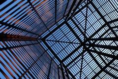 2 metal przemysłowa ciekawa struktura Obraz Royalty Free