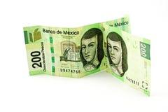 2 mexikanska bills Arkivfoto