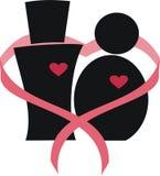 2 miłość Zdjęcie Royalty Free