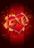 2 miłość Obraz Royalty Free