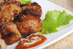 2 mięso piec Zdjęcie Stock