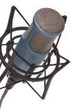 2 mic white Fotografering för Bildbyråer